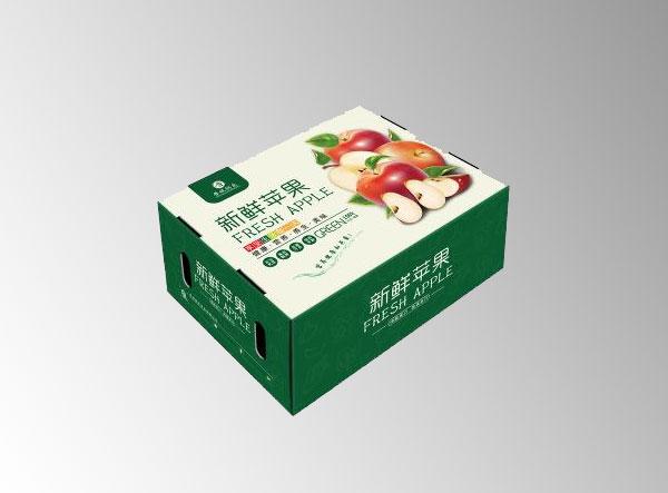 沈阳三层五层瓦楞彩印水果箱