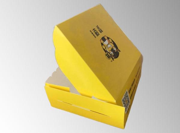 快餐食品彩箱