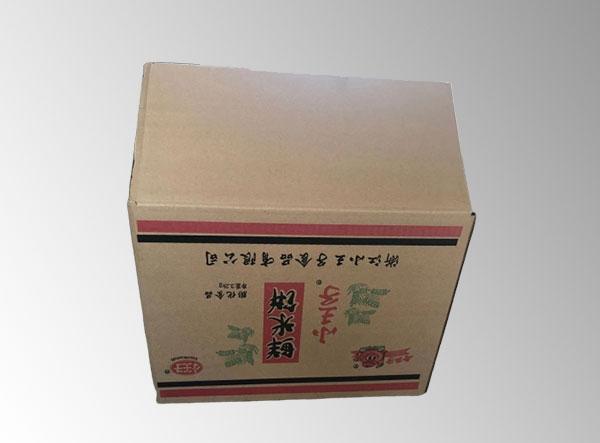 沈阳三层B楞黄皮包装箱