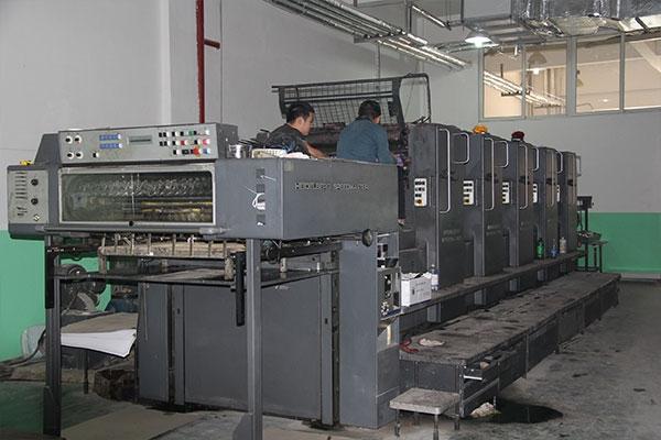 海德堡四色印刷机
